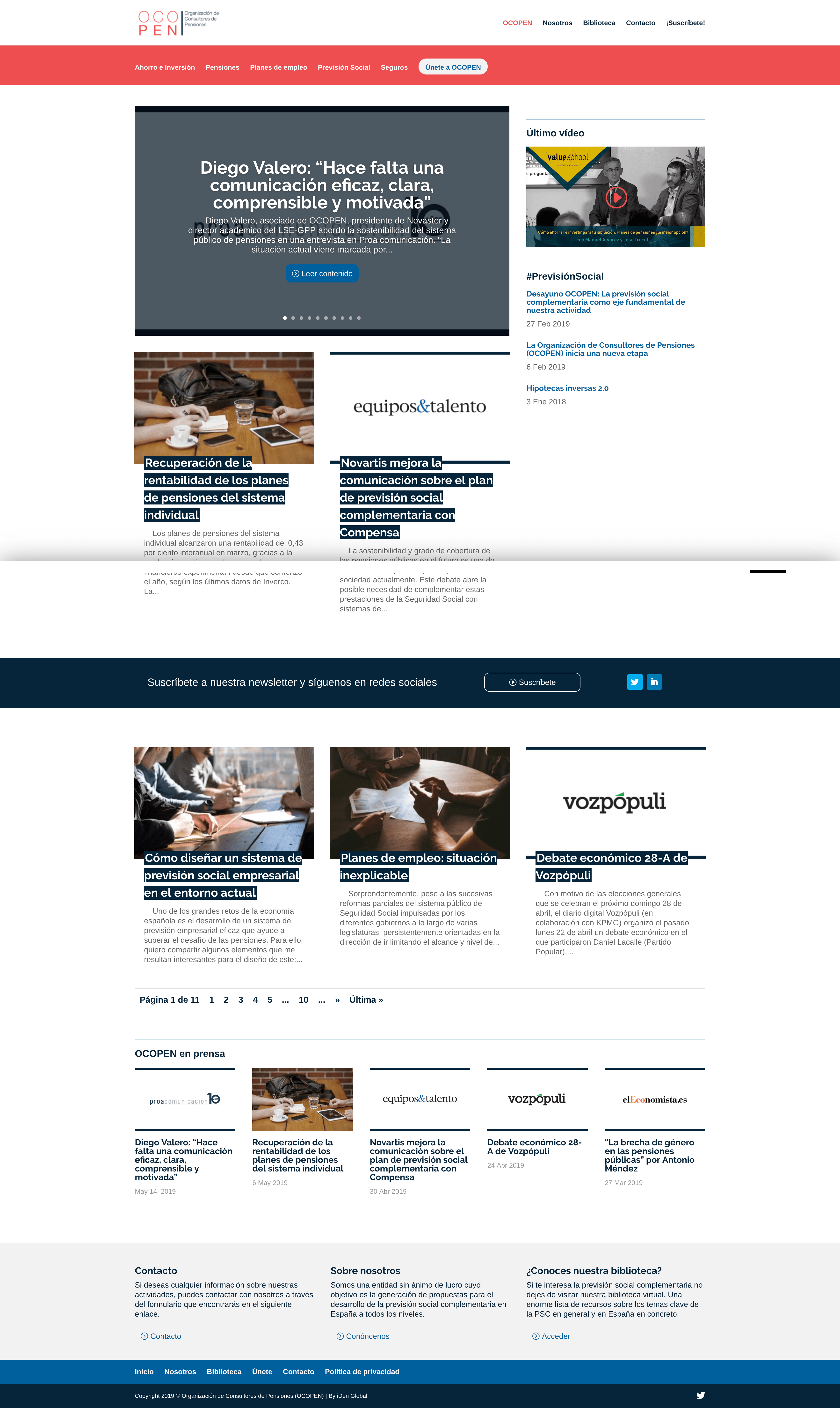 Páginas web en wordPress