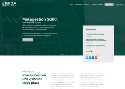 Nueva Web para Metagestión