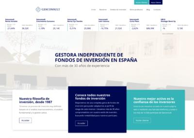 Nueva web Gesconsult
