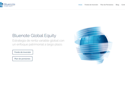 Nueva web para Bluenote Global Equity