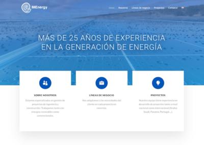 Nueva web para IMENERGY